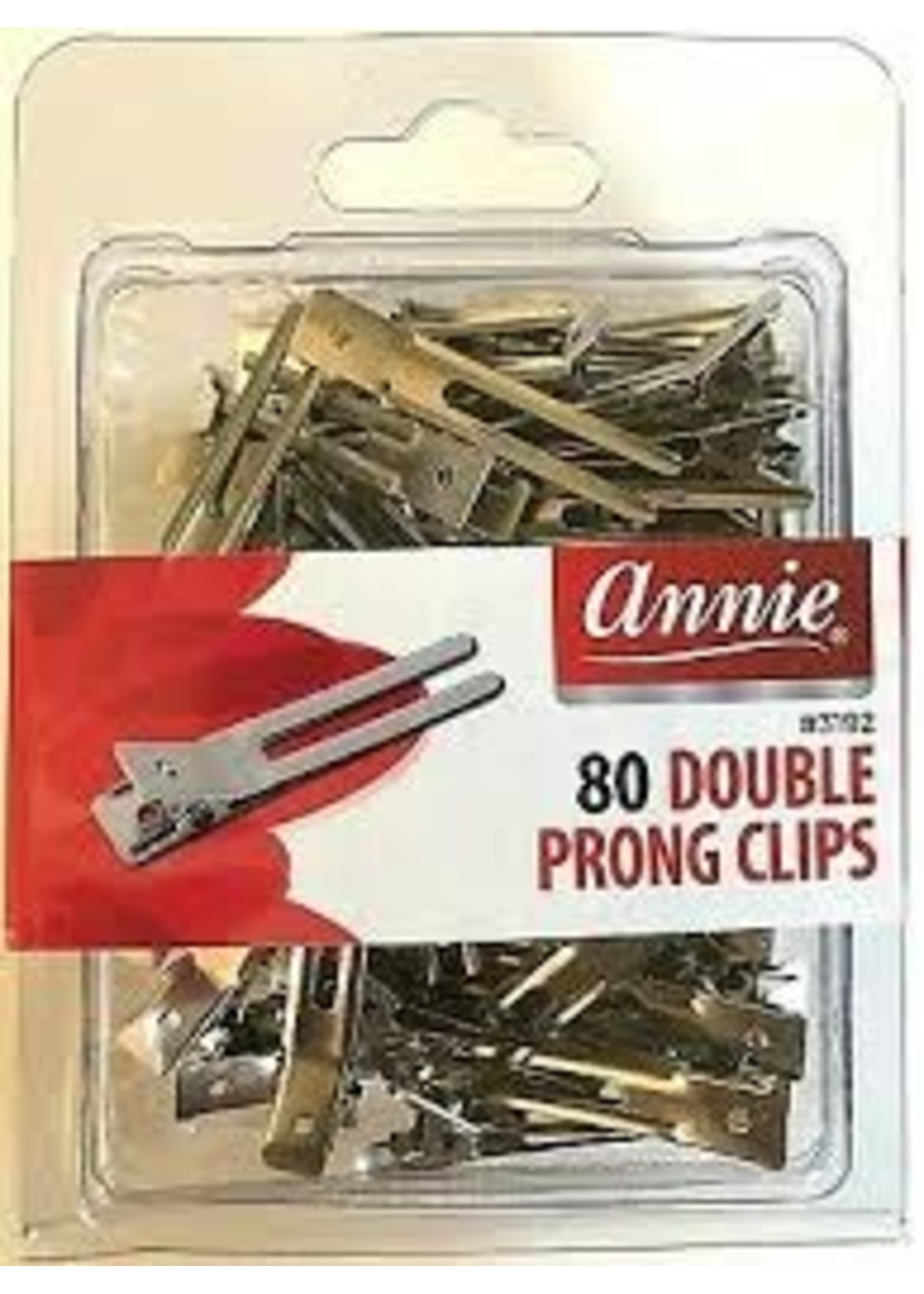 Annie Prong Double Clips 80ct