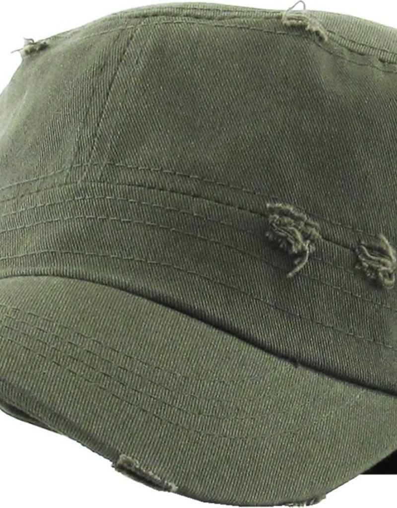 Distressed Army Cap