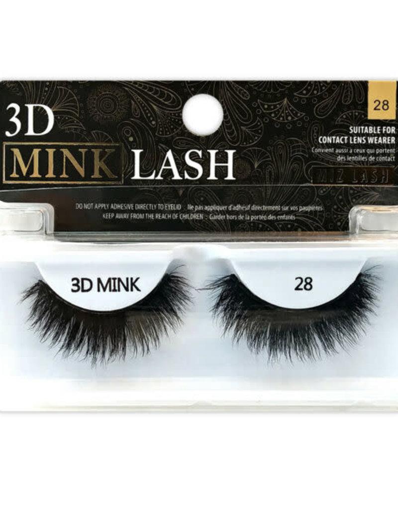 Miz 3D Mink Eyelashes