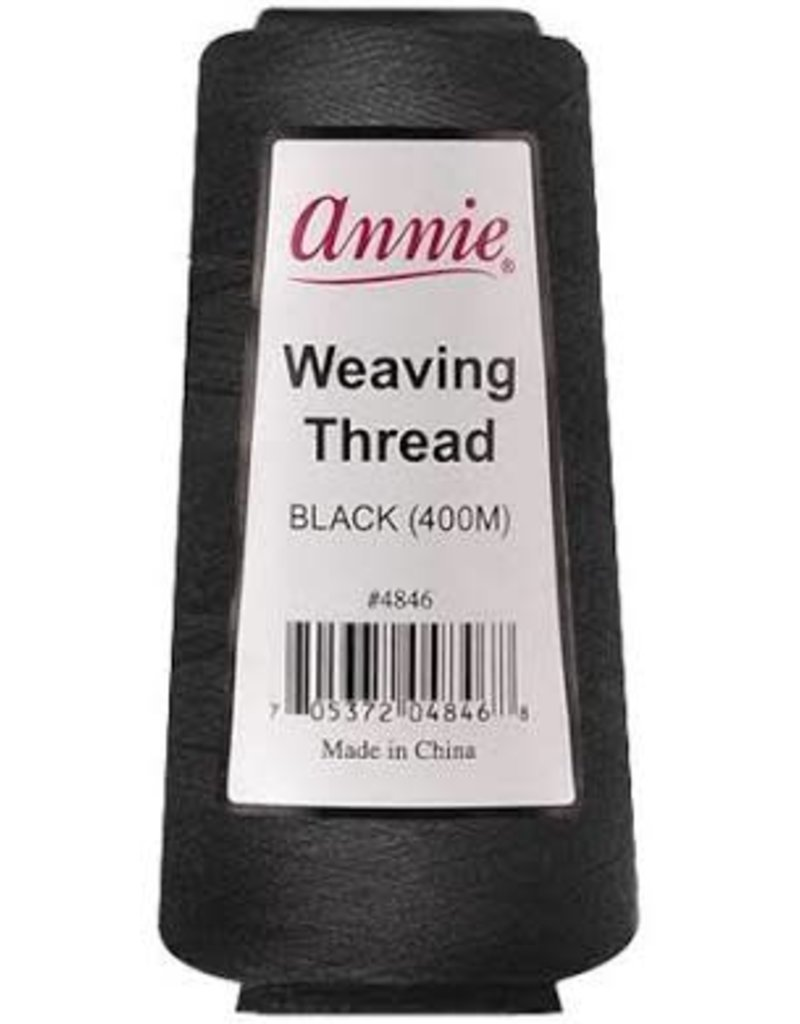 Annie Weaving Thread black 400m