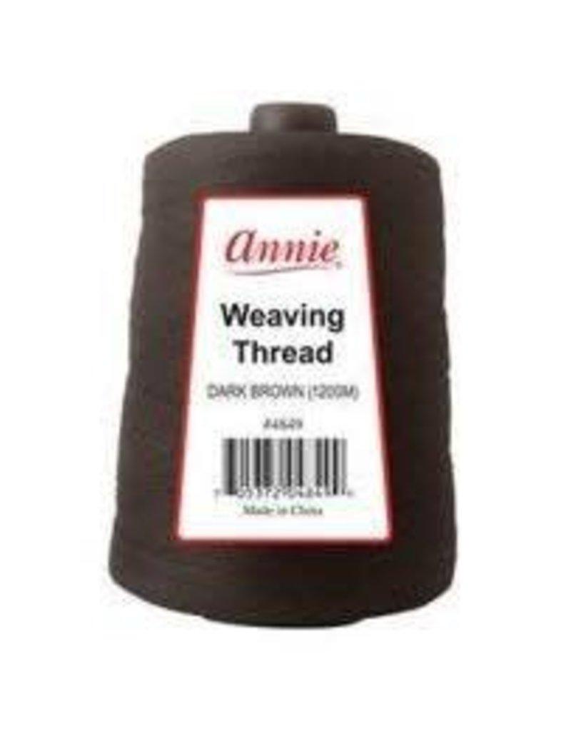 Annie Weaving Thread Dark Brown