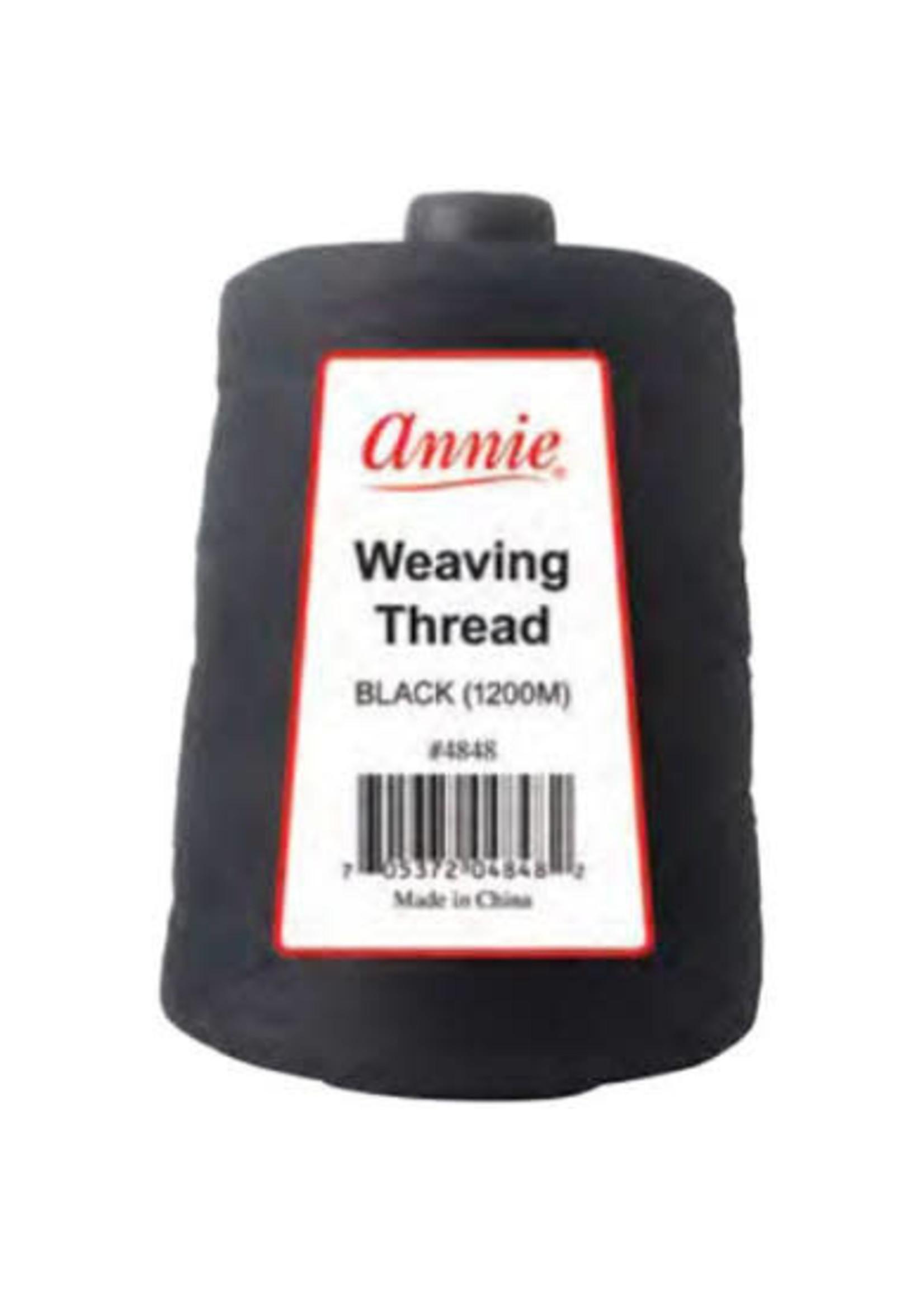 Annie Weaving Thread Black 1200