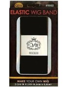 M&M Headgear Wig Band Wide Black