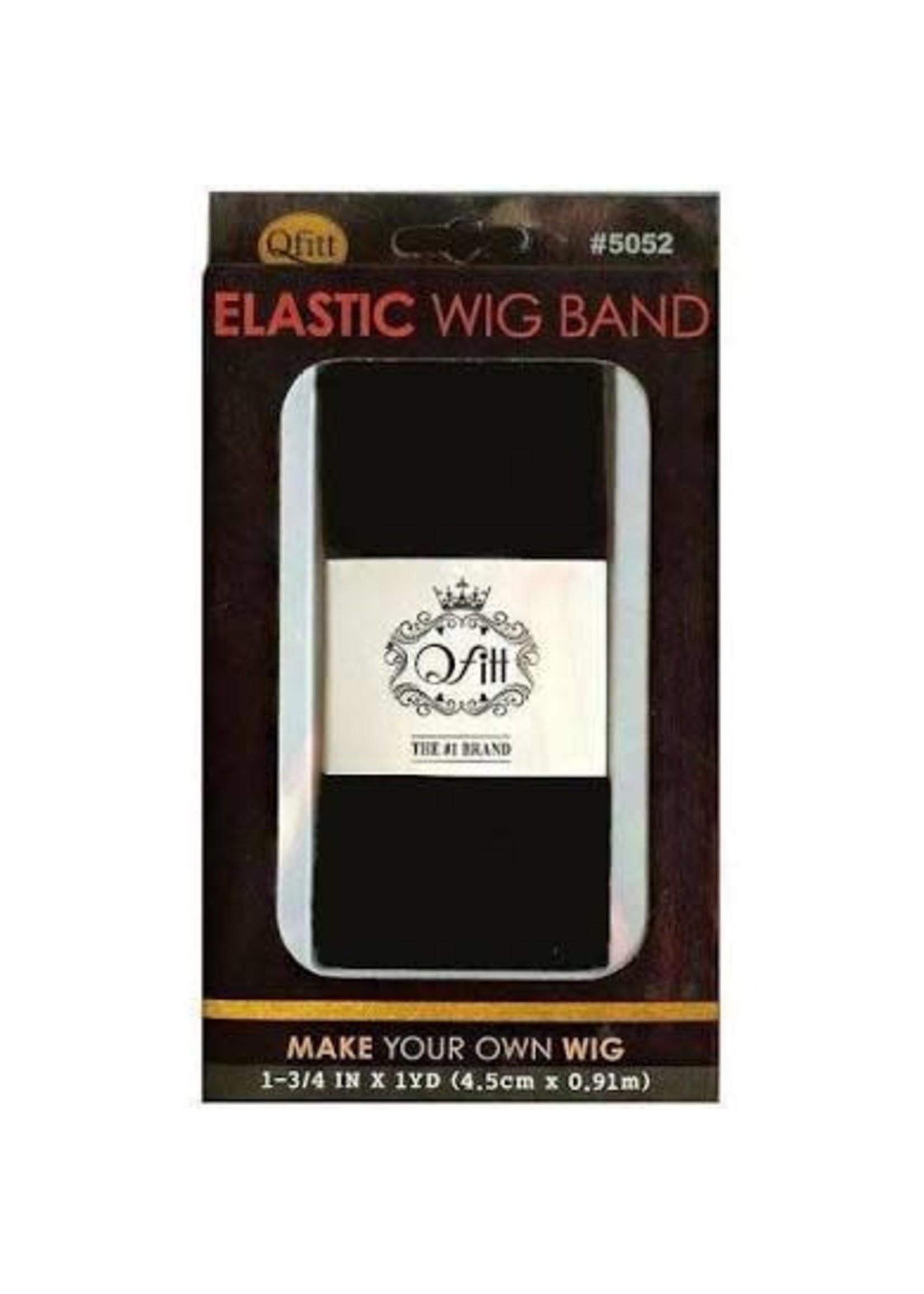M&M Headgear Wig Band Wide Black