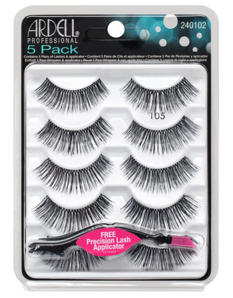 Ardell Lashes 105 5 pairs
