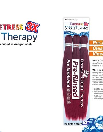 """3x Clean Therapy 52"""""""