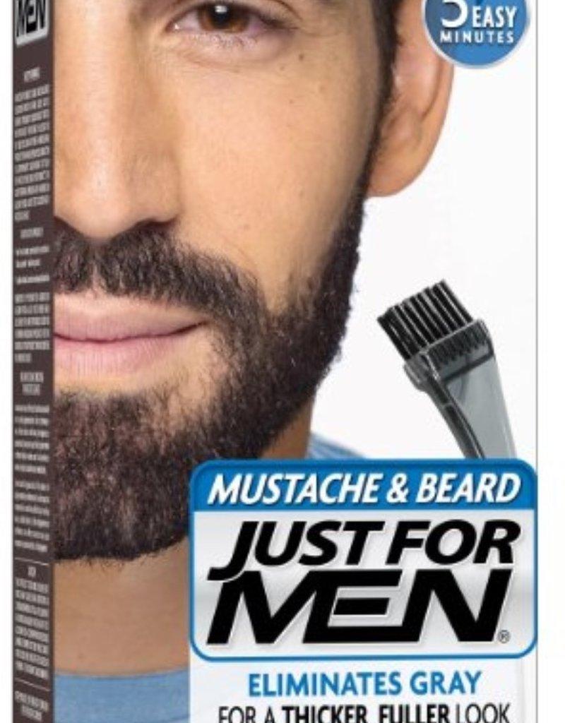 Just for Men Mustache & Beard Oil Real Black