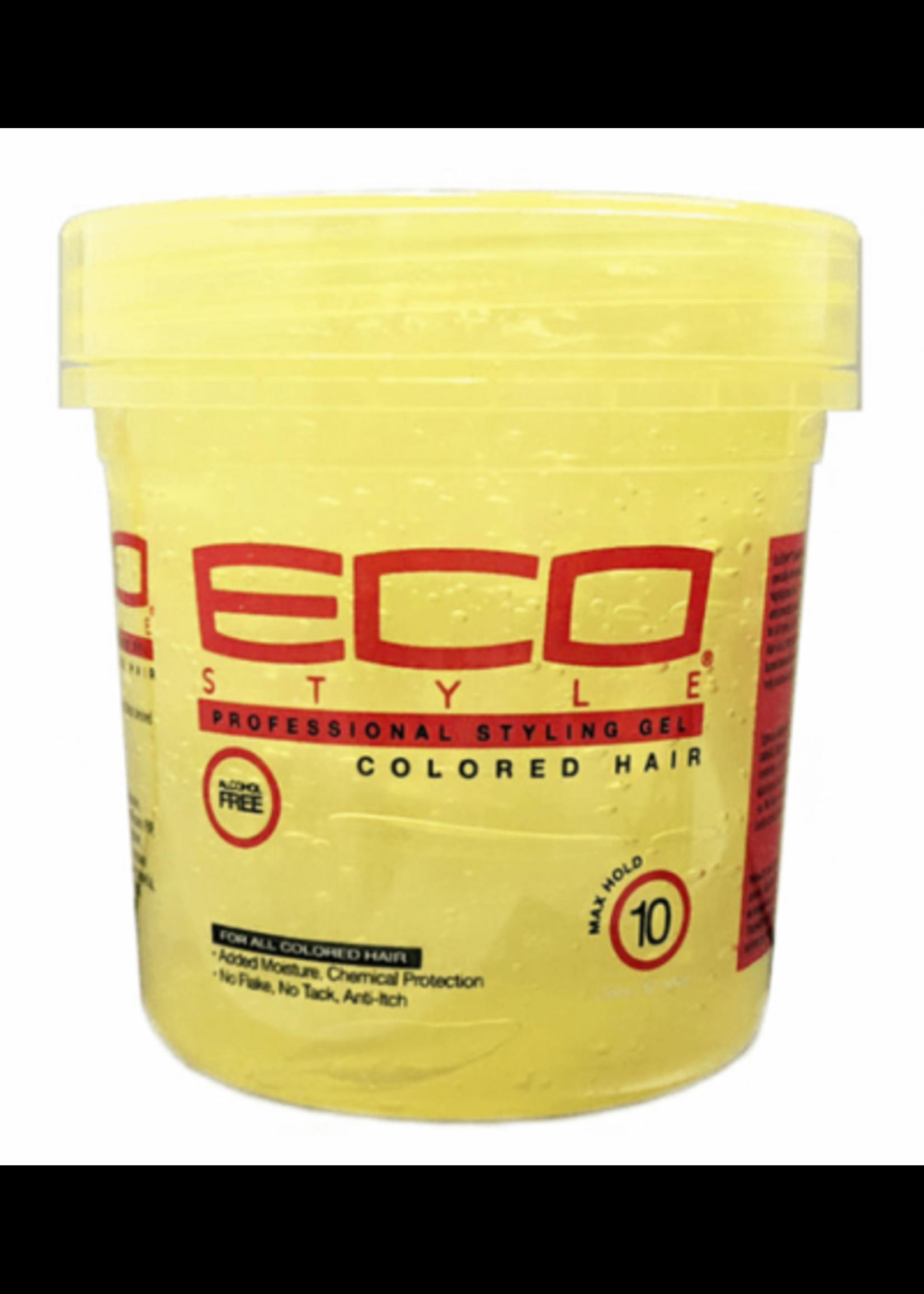 Eco Eco Styling Gel Yellow x-Firm 16oz