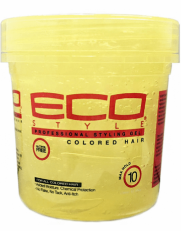 Eco Eco Styling Gel Yellow x-Firm 16oz