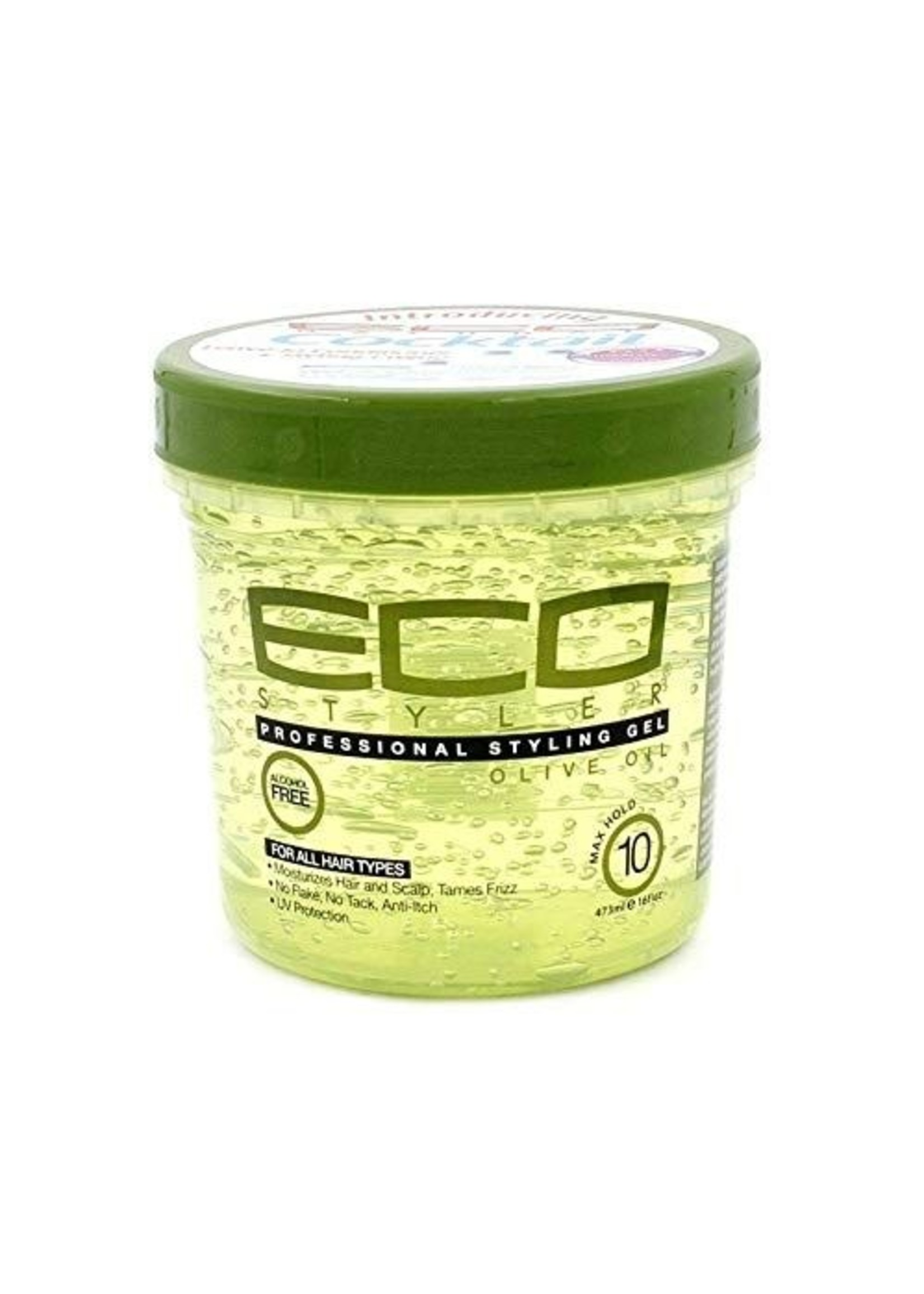 Eco Eco Styling Gel Green Olive Oil 16oz