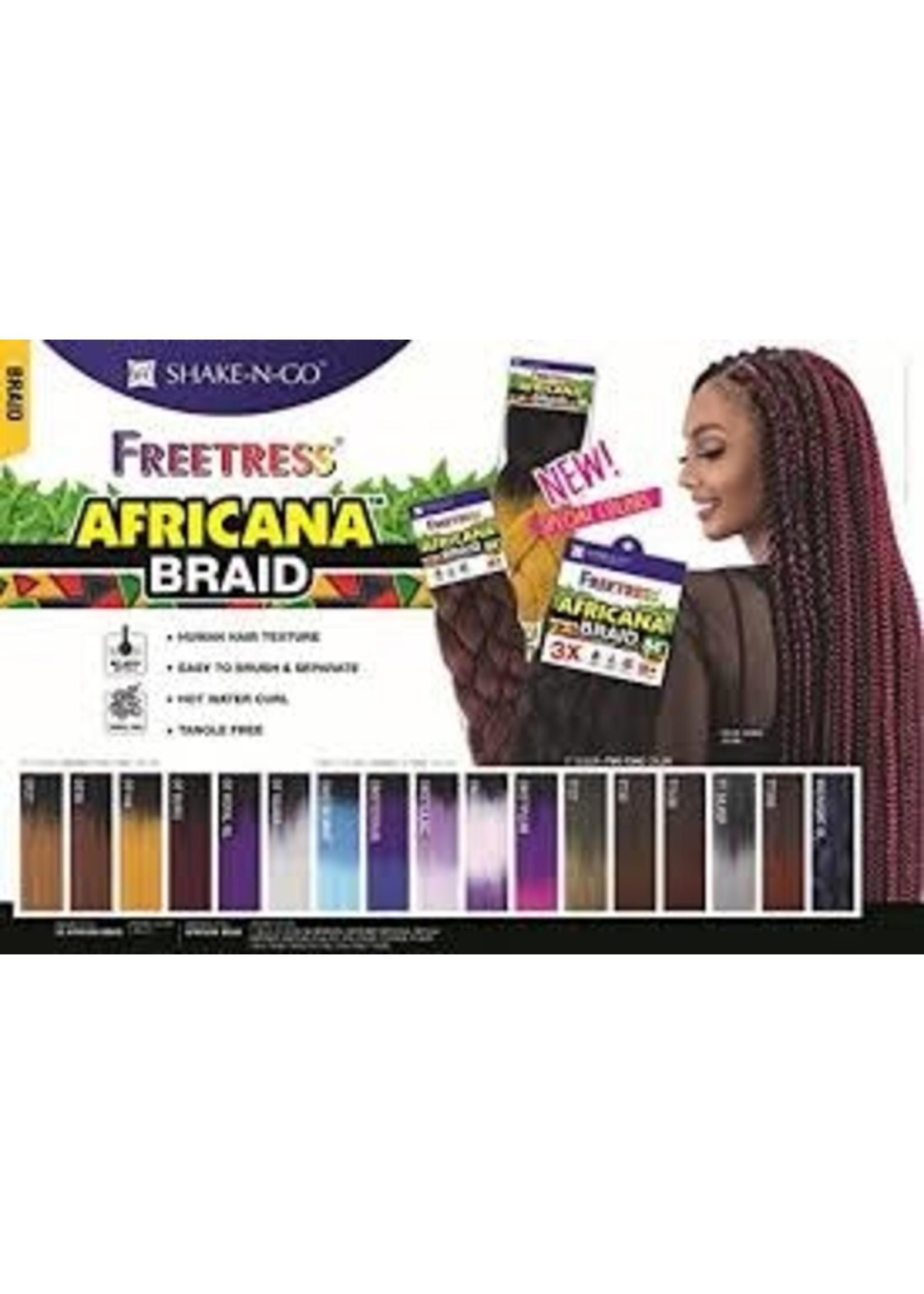 Africana Braid  (1B)