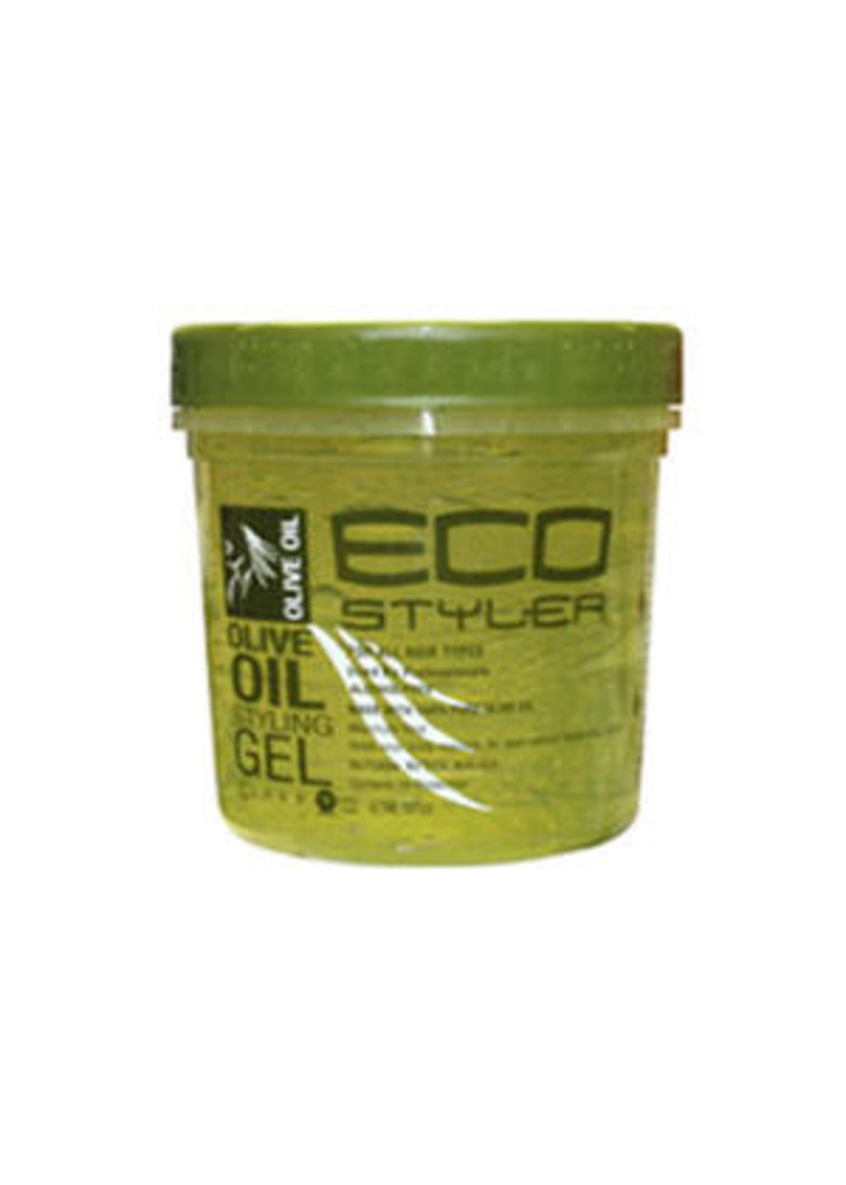 Eco Styling Gel Green [Olive Oil] 8oz.