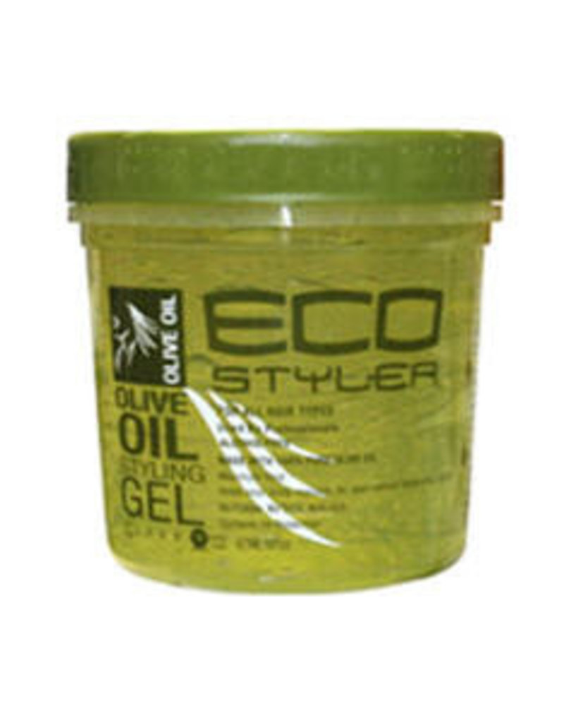 Eco Styling Gel Green [Olive Oil] 8oz.