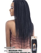 Nigerian Pre-Stretched Braid 20""