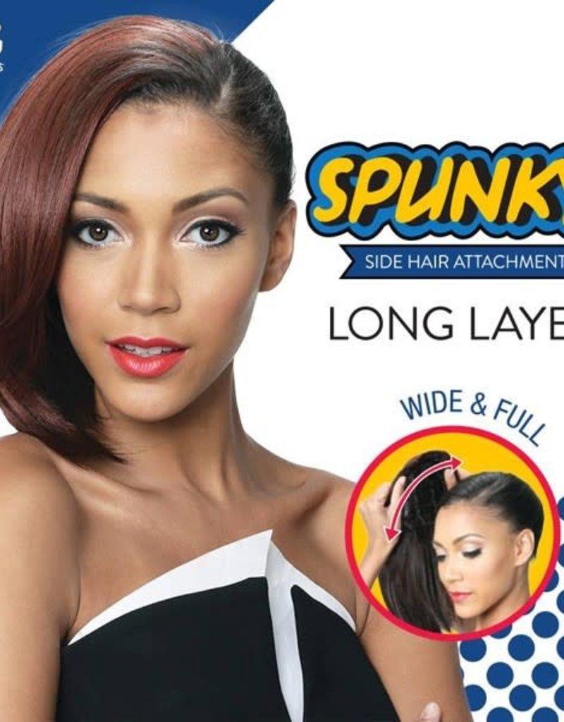 Spunky Side Hair Long Layer