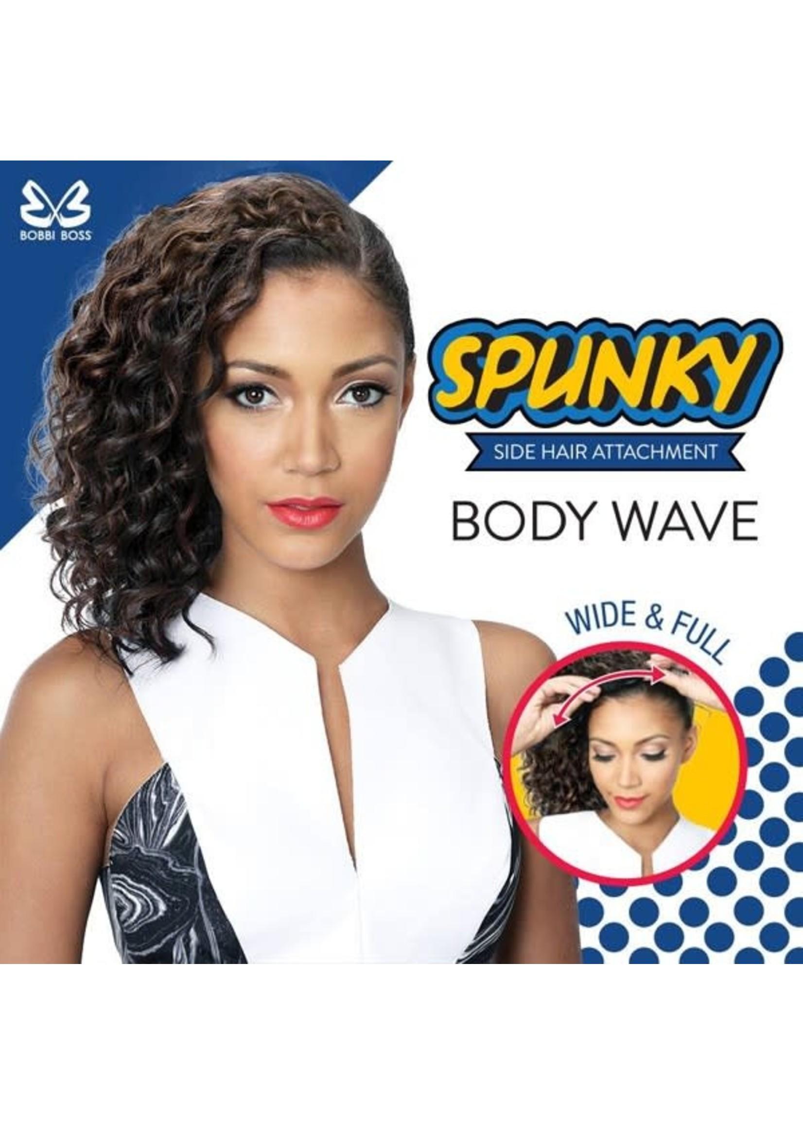 Spunky Side Hair Body Wave