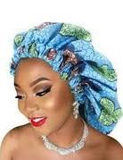 African Pattern Large Bonnet