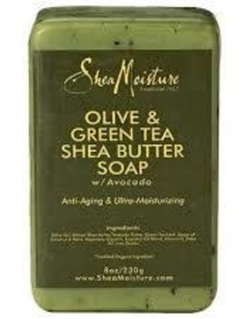 Shea Moisture Olive & Green Tea Shea Butter Soap