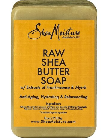 Shea Moisture Raw Shea Butter Soap w/Frankincense & Myrrh 8oz