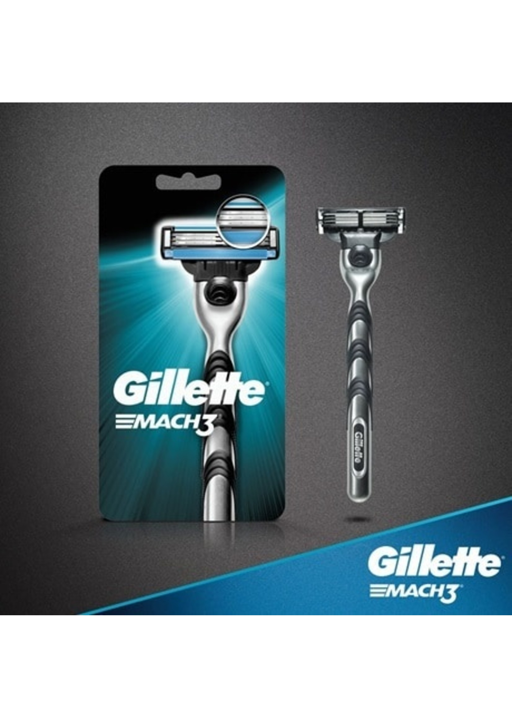 Gillette Mens Mach 3 Razor