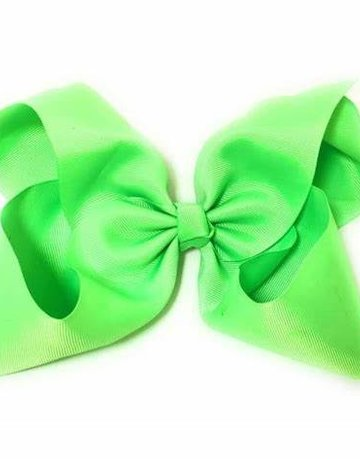 "8"" Hair Bow with Alligator Clip"