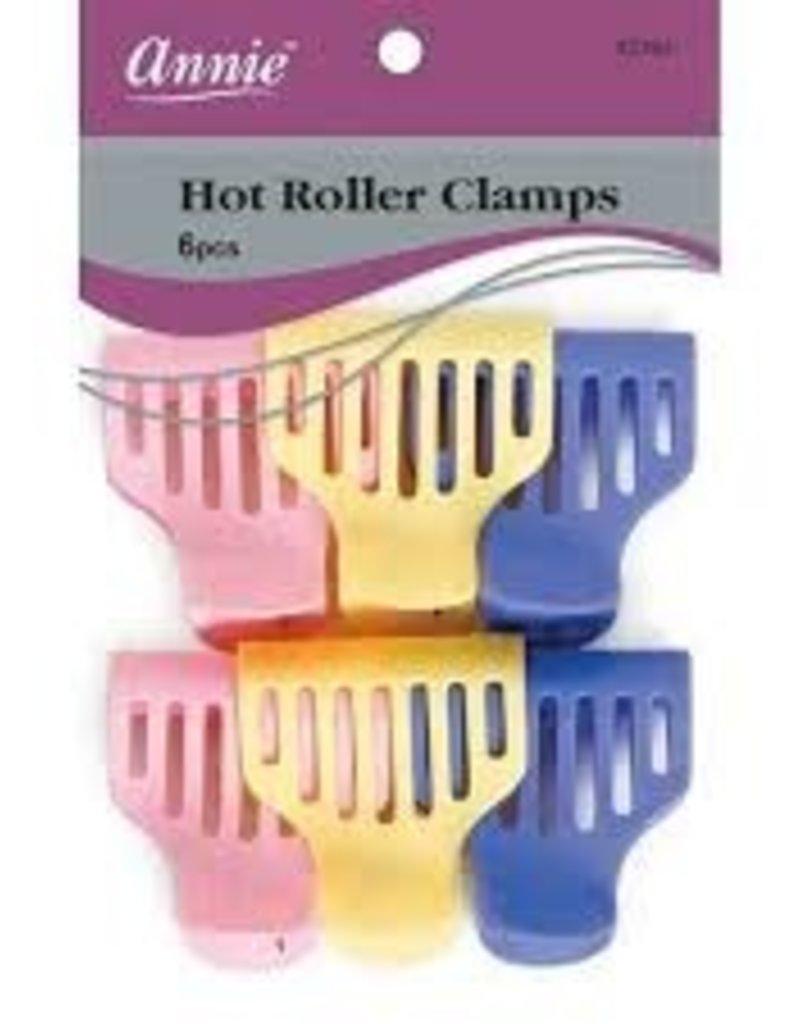 ANNIE HAIR ROLLER CLAMPS