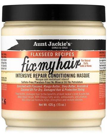 Aunt Jackies flaxseed Fix My Hair repair Masque