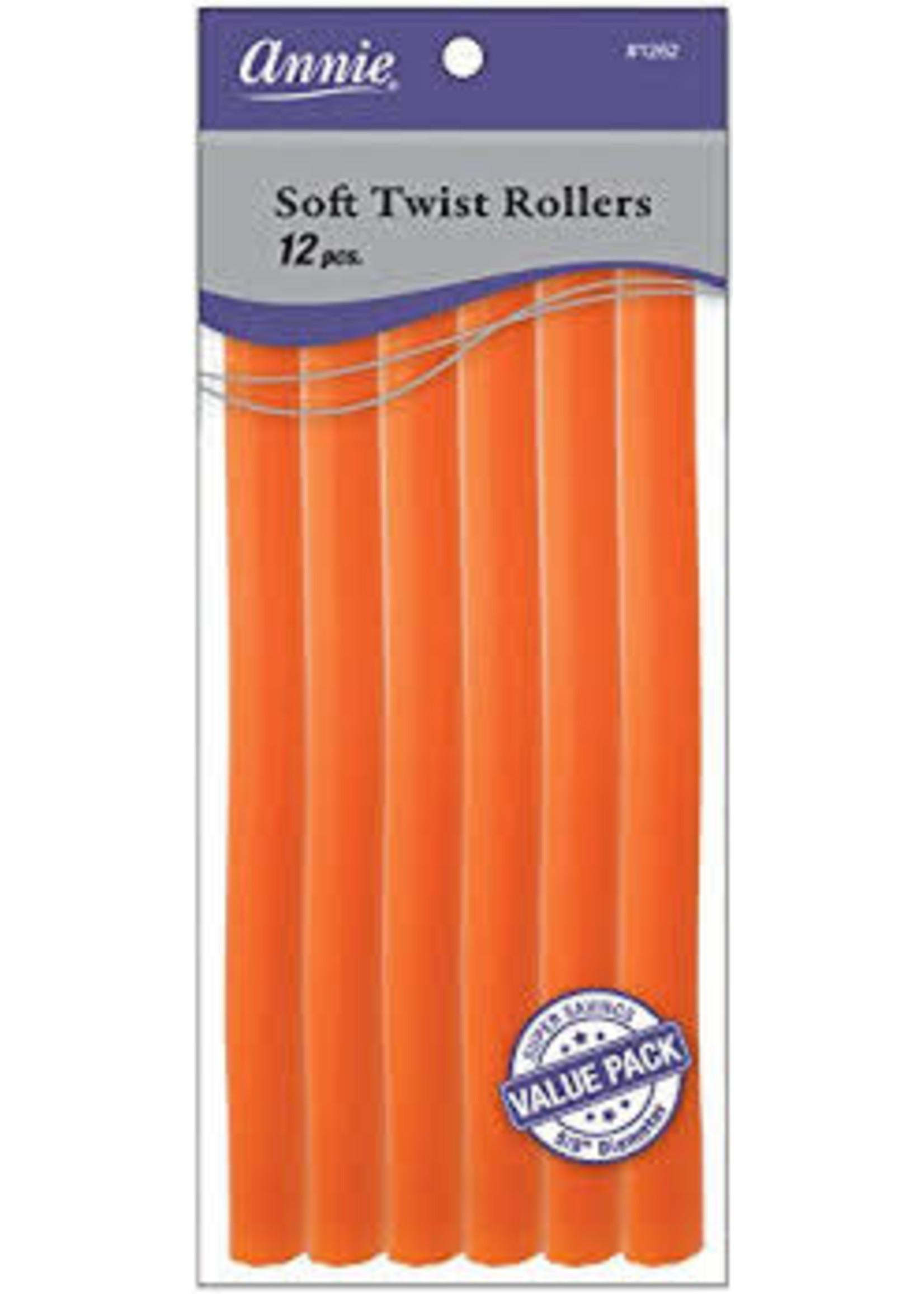 """ANNIE ROLLERS SOFT-TWIST 10""""-ORANGE 5/8"""""""
