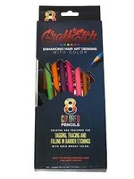 GRAFFETCH BARBER PENCILS HAIR ART Assorted