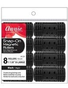 ANNIE ROLLERS SNAP-ON MAGNETIC (XL) 8ct,