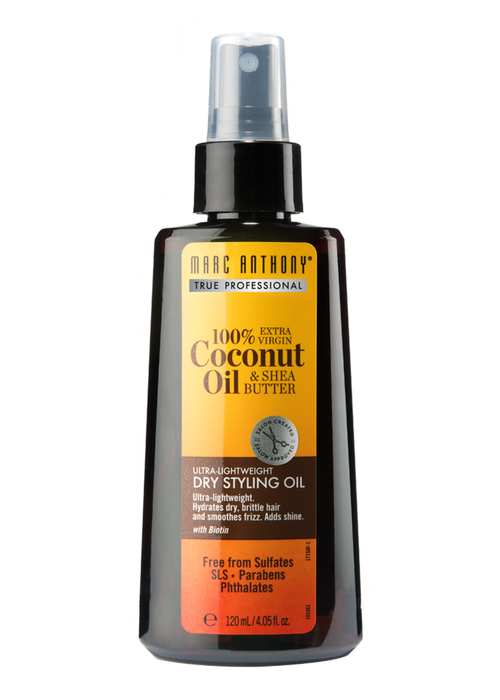 MARC ANTHONY 100% COCONUT OIL&SHEA BUTTER DRY STYLING OIL 4.05oz