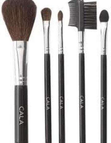 Cala 5pc Medium Cosmetic Brush Kit