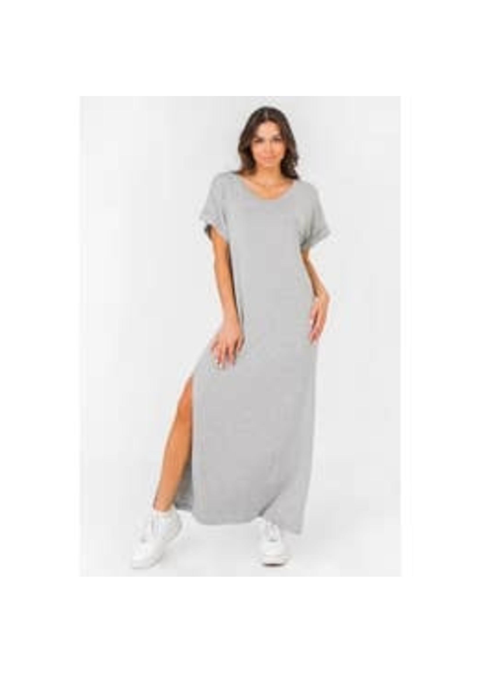 Knit Heather Grey Dress