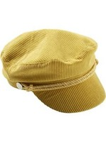 Mustard Corduroy Cap
