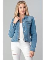 Stretchy Denim Fabric Jacket