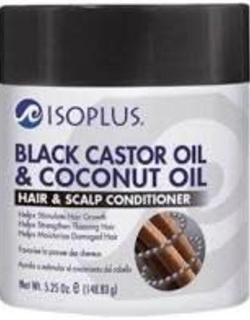 Isoplus Black Castor Oil & Coconut Oil Hair & Scalp Conditioner  5.25oz