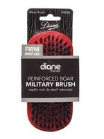 Diane Military Wave Brush-Red