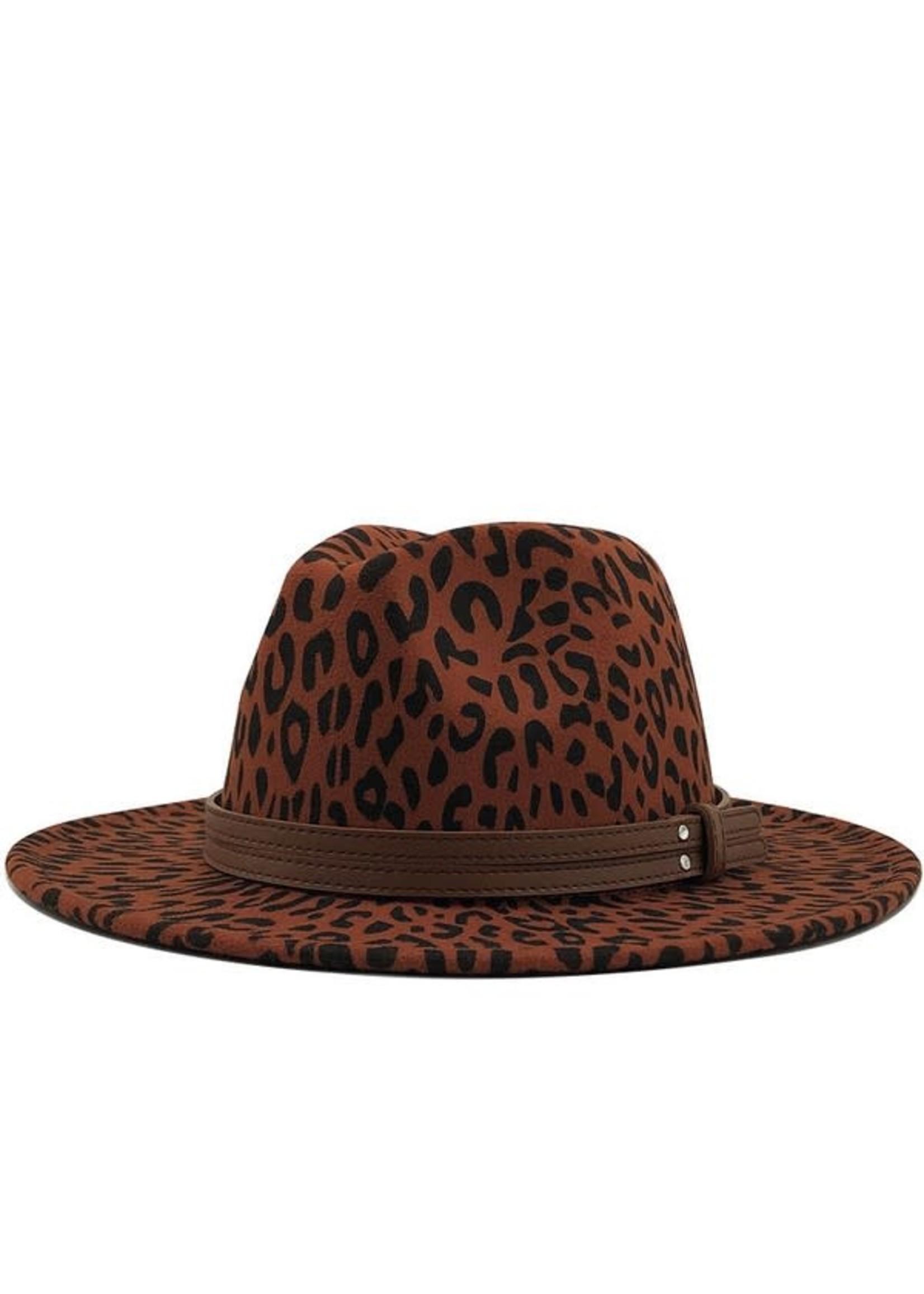 Leopard Stylish Panama Hat