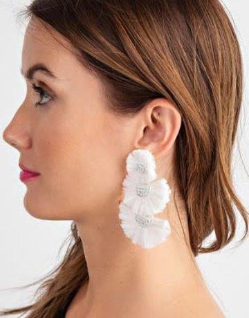 "Festive Hoop Earrings 3.25"""