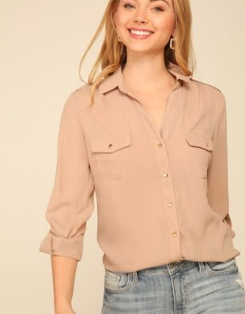 Dressy Button Down Shirt