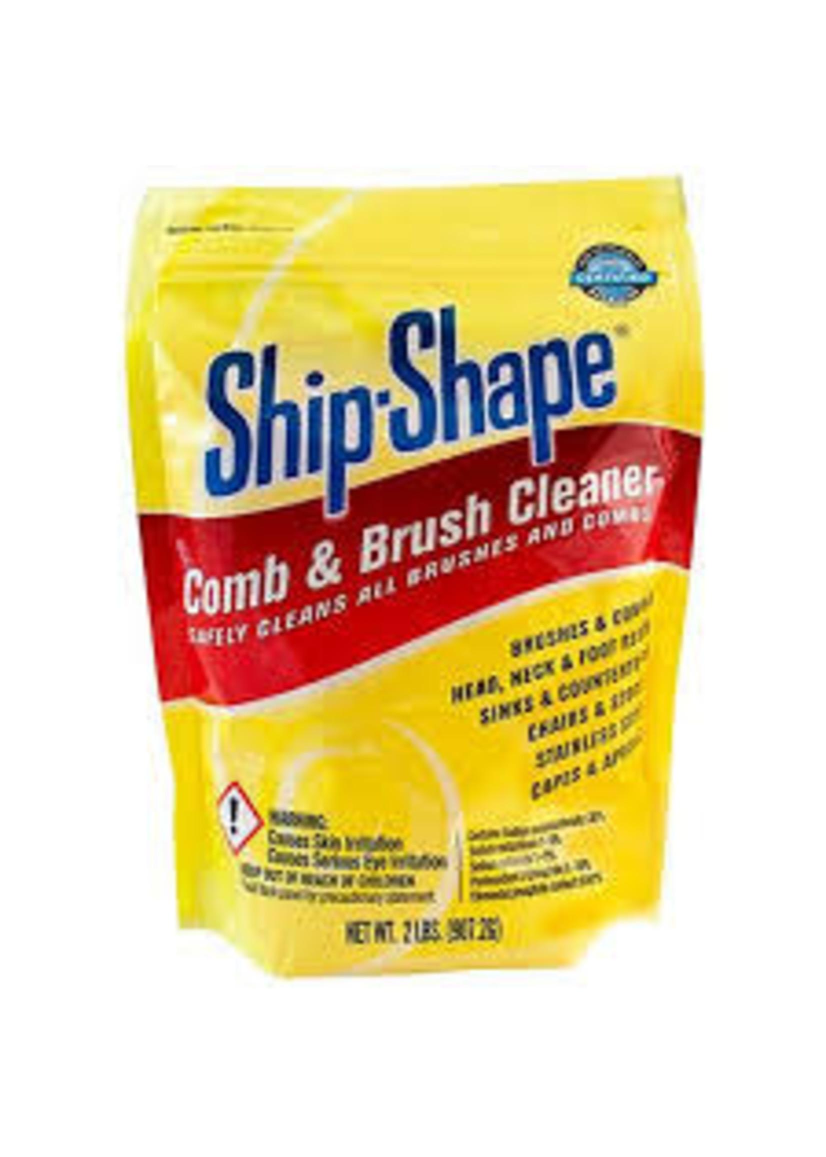 King Ship- Shape Comb & Brush Cleaner (Powder) 2lbs