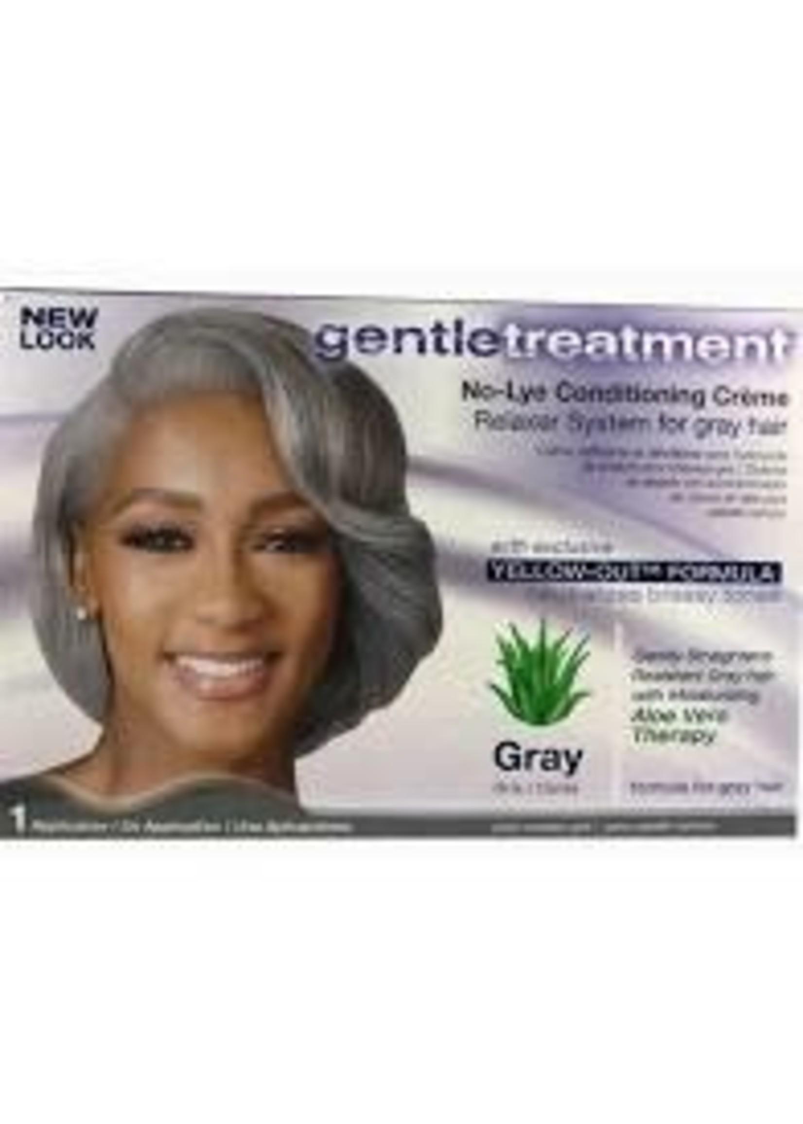 GENTLE TREATMENT RELAXER NO-LYE [GRAY]