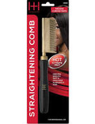 Annie Straightening Comb Medium Teeth (Curved)