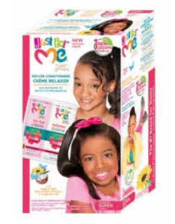 Just for me No-Lye Relaxer Kit 1 Touch Up (Super)