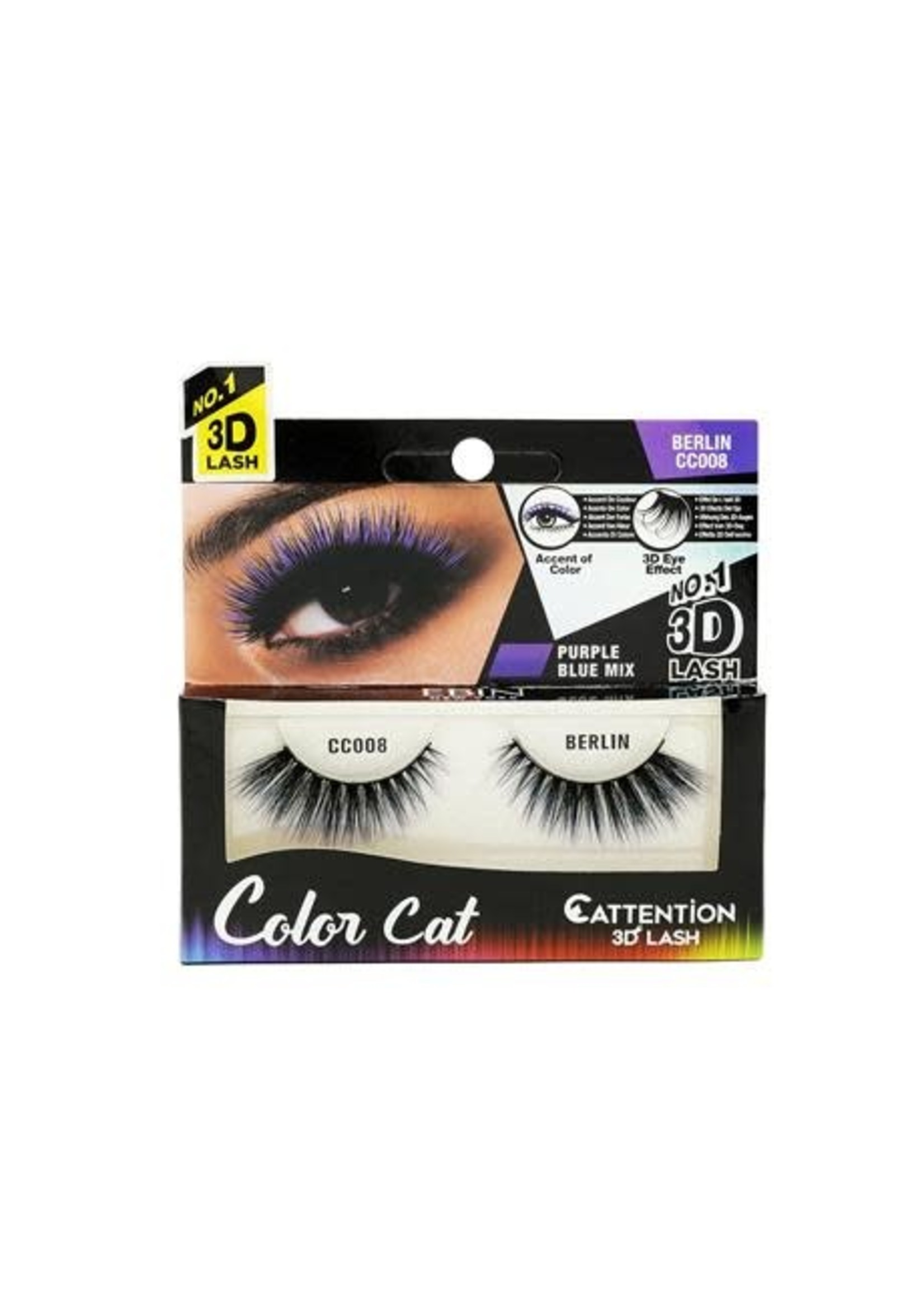 EBin Color Cat Eyelashes