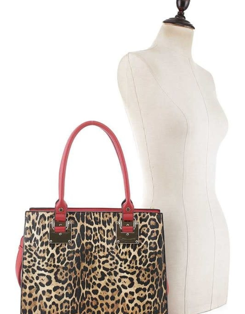 Leopard Purse with Wallet