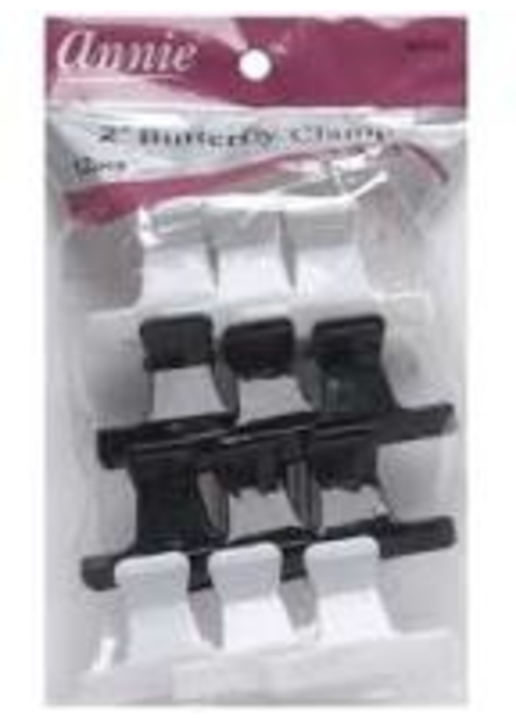 Annie Butterfly Clamps 12ct