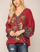 Bell Sleeve Blouse/Top