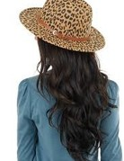 Leopard Stylish Panama Hat