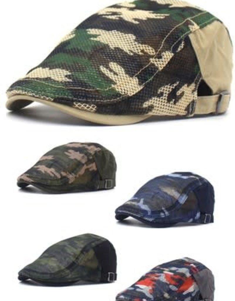Military Pattern Fashion Hat